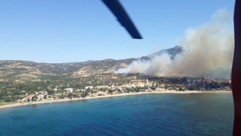 Son dakika! Antalya, Çanakkale ve Aydın'da yangın çıktı