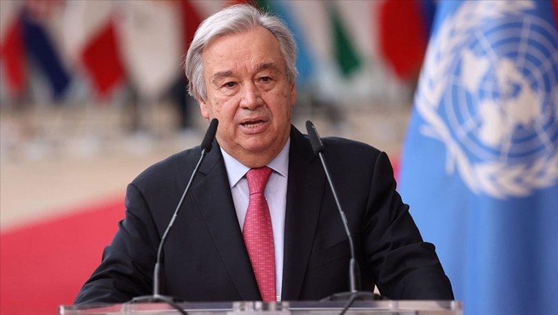 BM Genel Sekreteri Guterres, Türkiye'deki doğal felaketler nedeniyle dayanışma mesajı paylaştı