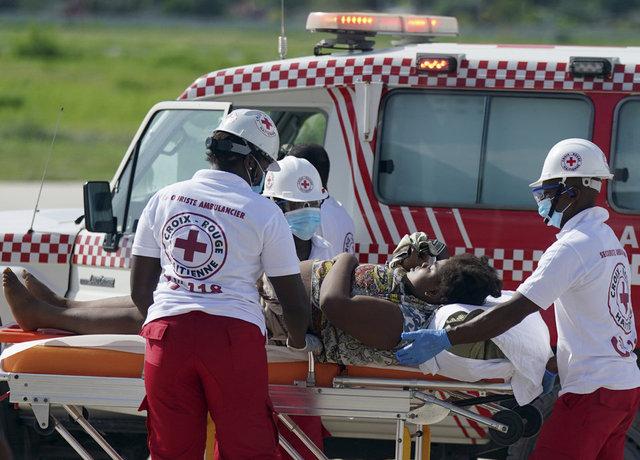 Haiti depreminde can kaybı 1419'a yükseldi