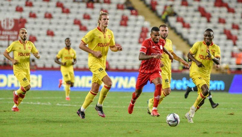 Antalyaspor: 1 - Göztepe: 1 MAÇ SONUCU