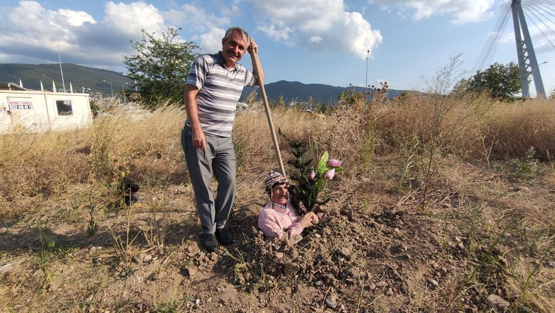 Toprağı kazıp kendini diri diri gömdü... Nedeni şaşırttı - Haberler