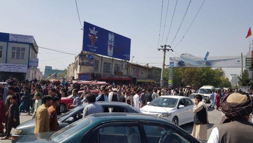 SON DAKİKA: Kabil Havalimanı'nda izdiham: Hayatını kaybedenler var! - Haberler