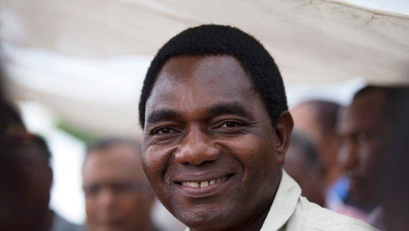 Zambiya'da Hakainde Hichilema seçimleri kazandı