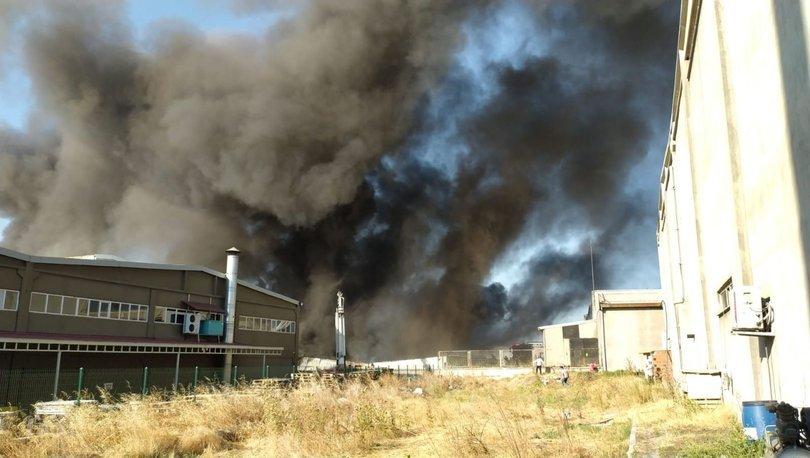 Tekstil fabrikasında feci yangın! - Haberler
