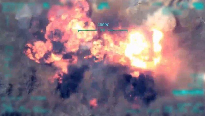 Son dakika haberi Irak'ın kuzeyinde 4 terörist daha etkisiz!