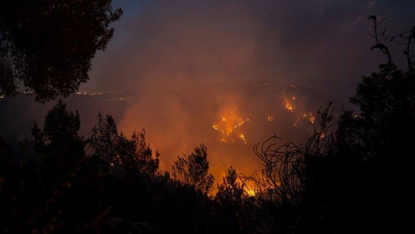 İsrail yardım istedi! Batı Kudüs'te orman yangını - Son dakika haberleri