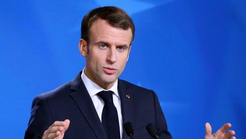 Fransa Cumhurbaşkanı Macron'dan Afganistan açıklaması: İnsiyatif alacağız - Son dakika haberleri