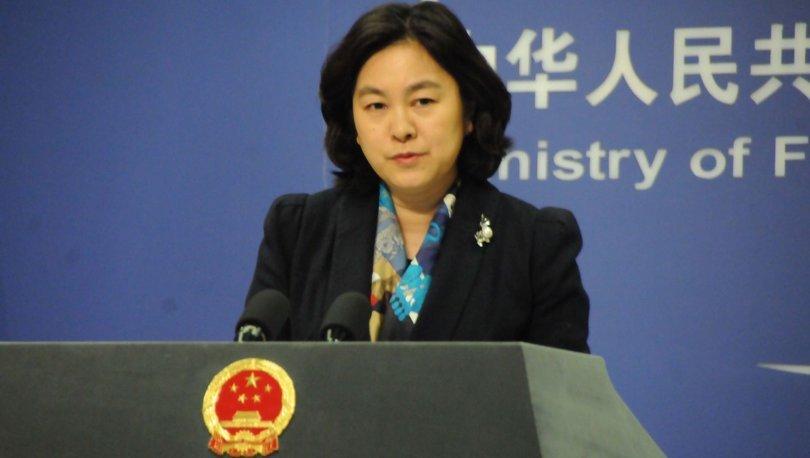 Meşrulaştırma girişimleri: Çin'den