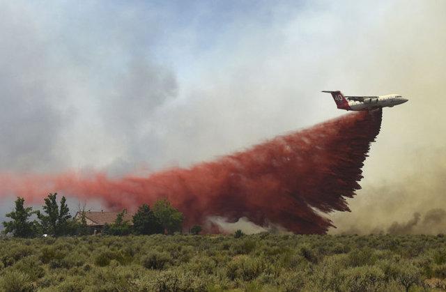 SON DAKİKA: ABD'nin California eyaletinde 1 aydır devam eden yangınla mücadele sürüyor!