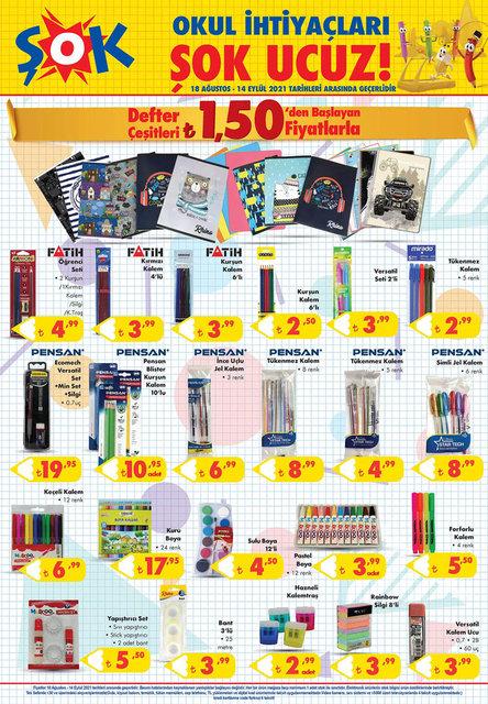 18 Ağustos ŞOK Aktüel ürünler kataloğu satışta! ŞOK haftanın indirimli ürünleri listesi