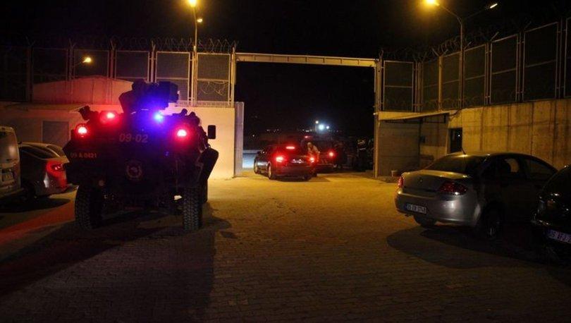 Aydın Göç İdaresi'nde iki kaçak göçmen grup arasında kavga çıktı