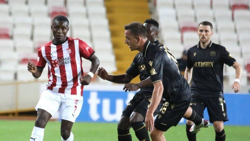 Sivasspor'un 19 maçlık serisi sona erdi