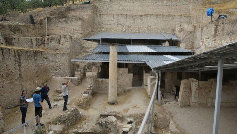 Zeugma'da 14 yıllık emekle ortaya çıkarılan Muzalar Evi ziyarete açılacak