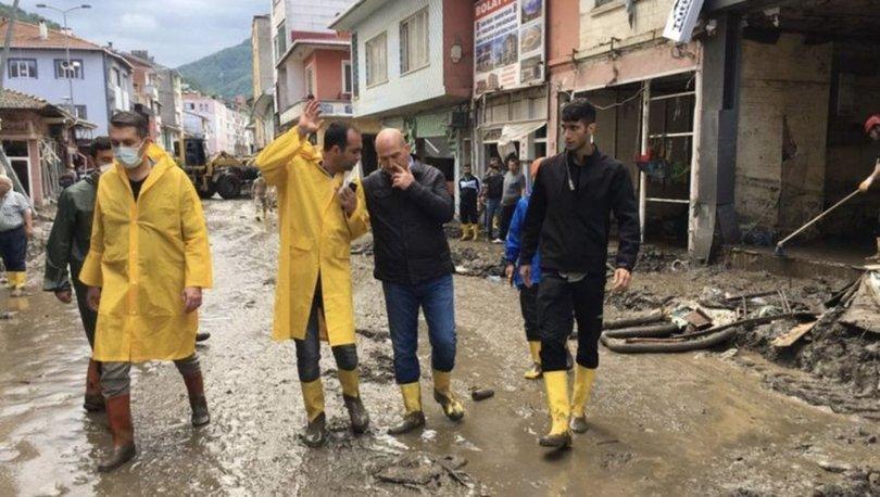 Son dakika: Felaketin yaşandığı Bozkurt'ta kaymakam değişti