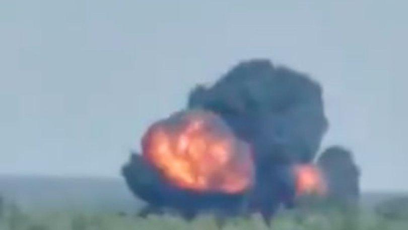 SON DAKİKA: Rusya'da askeri nakliye uçağı düştü