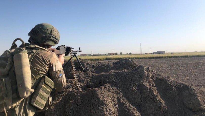 Son dakika haberi Suriye ve Irak'ın kuzeyinde 5 terörist etkisiz!