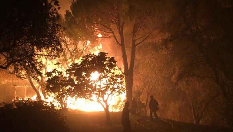 SON DAKİKA: Fransa'da orman yangınları: Binlerce kişi tahliye edildi!