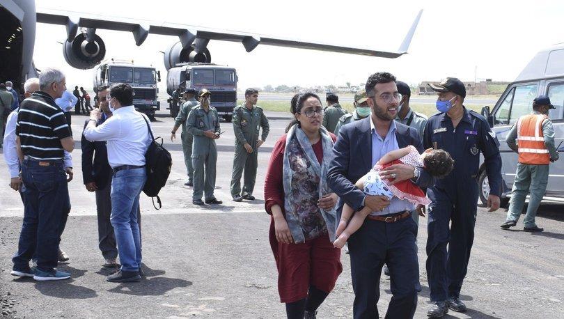 Hindistan elçilik çalışanları ve vatandaşlarını Afganistan'dan derhal tahliye etme kararı aldı