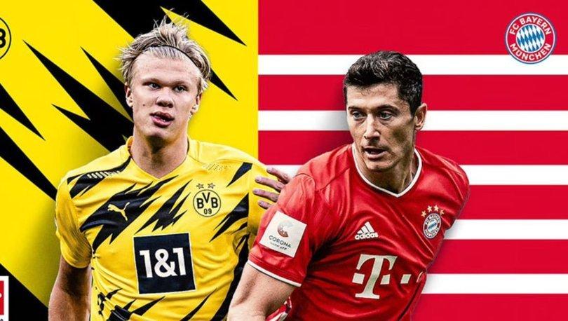 Borussia Dortmund Bayern Münih maçı ne zaman, saat kaçta? Borussia Dortmund Bayern Münih maçı hangi kanalda CA