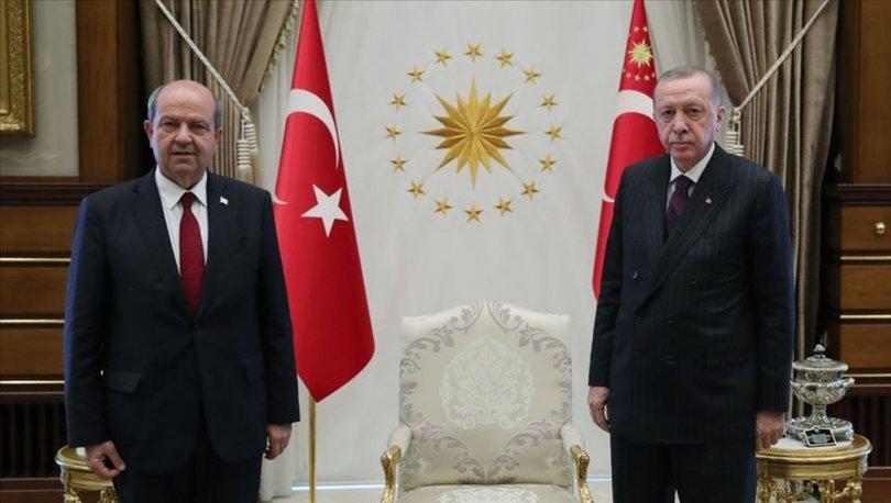 KKTC Cumhurbaşkanı Tatar'dan Cumhurbaşkanı Erdoğan'a başsağlığı mesajı