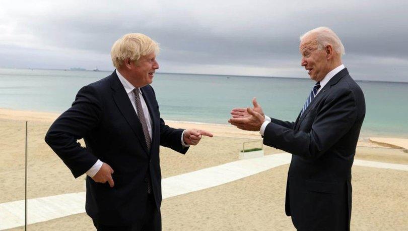 ABD Başkanı Biden ile İngiltere Başbakanı Johnson'dan Afganistan değerlendirmesi