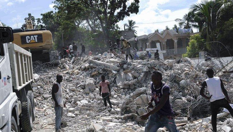 Haiti açıklarındaki depremde hayatını kaybedenlerin sayısı 1941'e yükseldi