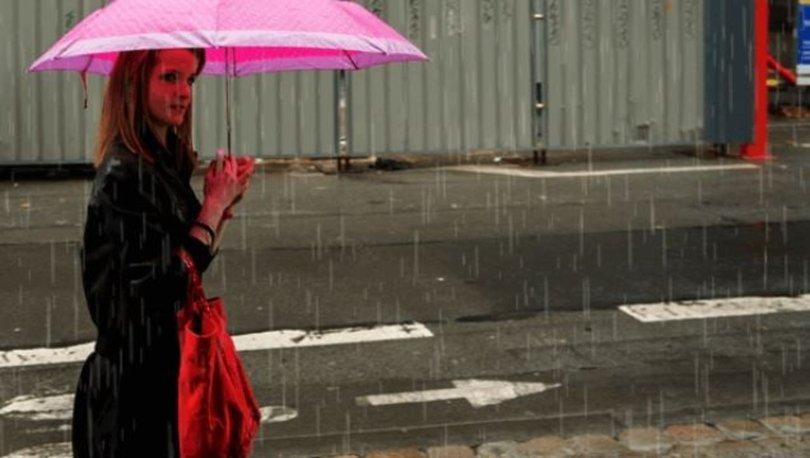 ISLANACAĞIZ! Meteoroloji'den son dakika hava durumu uyarısı! Bir bölgede sağanak! - VİDEO HABER