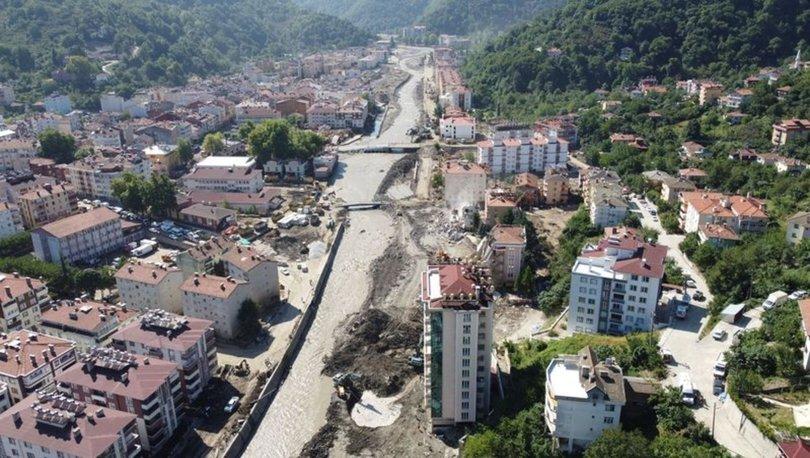 Bozkurt'taki selde yıkılan binanın müteahhidi adliyeye sevk edildi