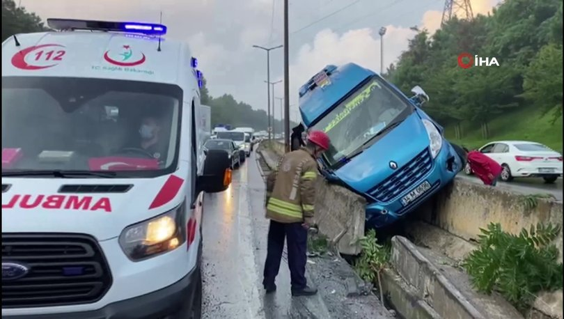 Son dakika haberi: İstanbul'da zincirleme kaza! 7 araç birbirine girdi
