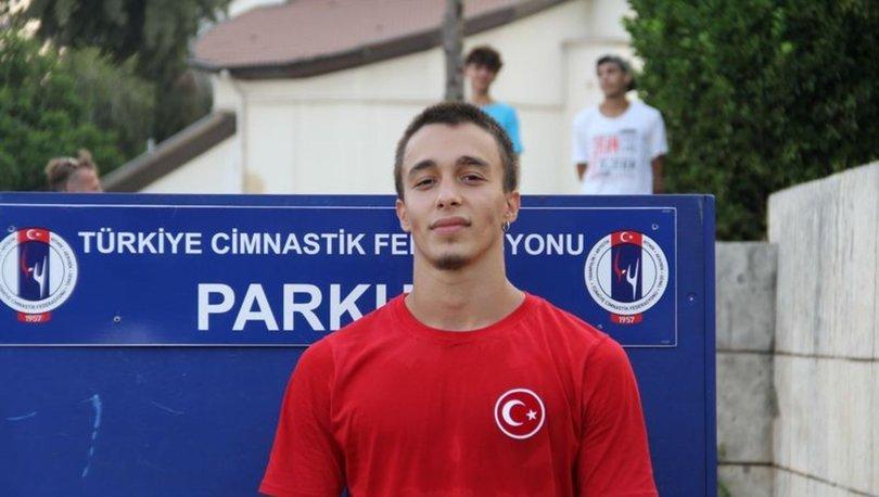 Milli cimnastikçi Sarp Eren Odabaş, Parkur Dünya Kupası'nda derece hedefliyor: