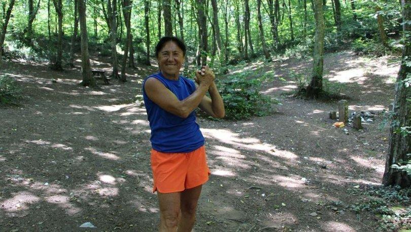 Ultra maratoncu 62 yaşındaki Bakiye Duran, Avrupa'daki 300 kilometrelik yarış için hazırlanıyor