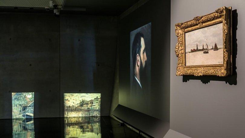 Ünlü Fransız ressam Monet'in 1,4 milyon dolarlık tablosuna soygun girişimi
