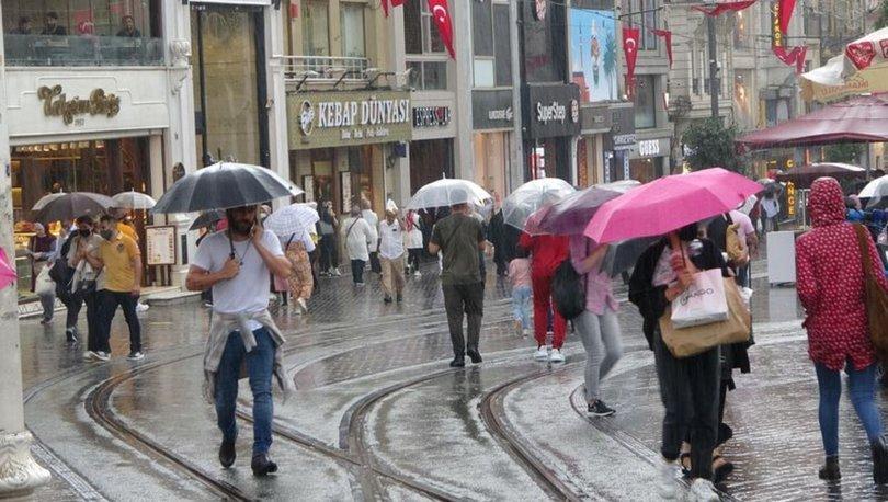 BEKLENEN YAĞIŞ GELDİ! Son dakika: İstanbul'da etkili sağanak! - VİDEO HABER