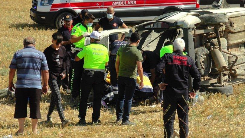 Kayseri'de şarampol faciası! 4 ölü, 10 yaralı - Haberler