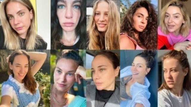 Serenay Sarıkaya'dan makyajsız paylaşım - Magazin haberleri