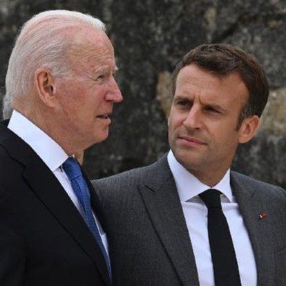 Macron, Biden ile Afganistan'daki durumu görüştü