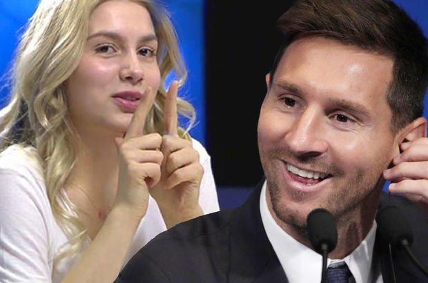 Aleyna Tilki'den Messi yorumu