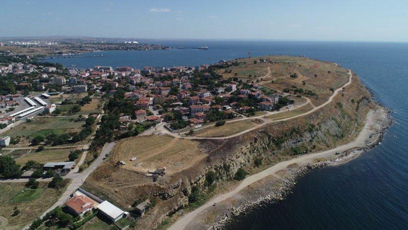 2600 yıllık Perinthos Antik Kenti gün yüzüne çıkarılıyor