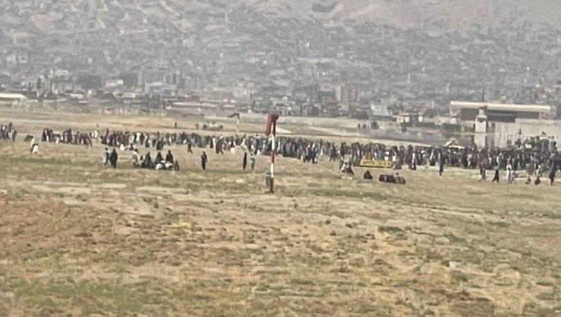 SON DAKİKA! Kabil Havaalanı'nda kaos! Afganistan'da panik sürüyor
