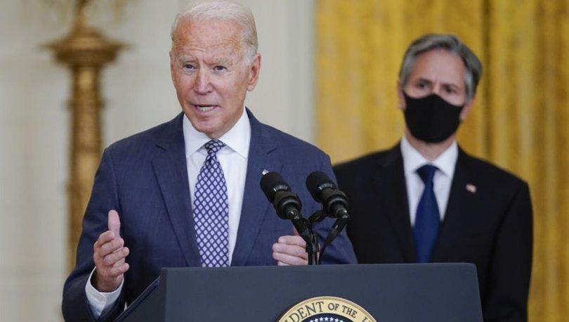Son dakika! Joe Biden'den Afganistan açıklaması: Taliban ile kontak halindeyiz!