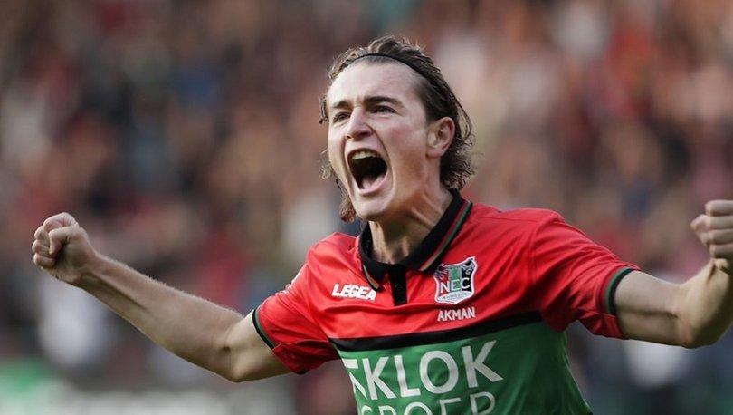 Ali Akman, NEC Nijmegen kariyerine golle başladı