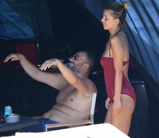 Erdinç Acar, sevgilisi Gizem Çetin ile tatilde - Magazin haberleri