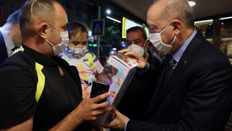 Cumhurbaşkanı Erdoğan restorana uğradı - Son dakika haberleri