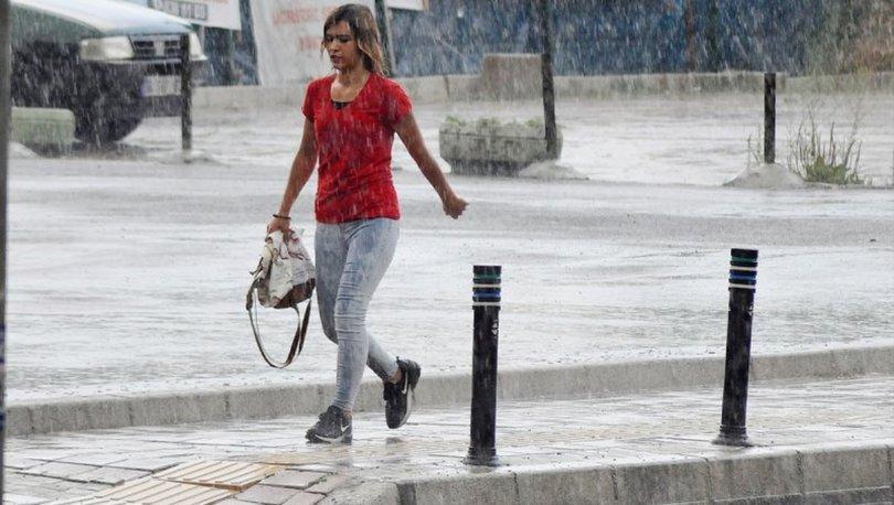 ŞİDDETLİ SAĞANAK! Meteoroloji'den son dakika sağanak yağış uyarısı! 2 bölgede yağacak