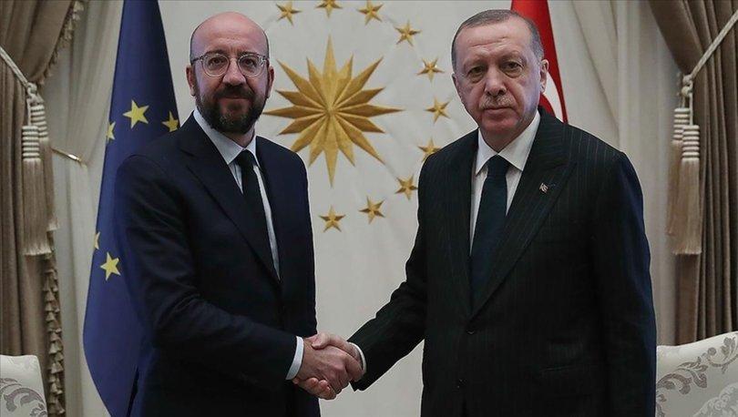Cumhurbaşkanı Erdoğan AB Konseyi Başkanı Michel'e Afgan göçmen mesajı: Türkiye ilave bir yükü kaldıramaz
