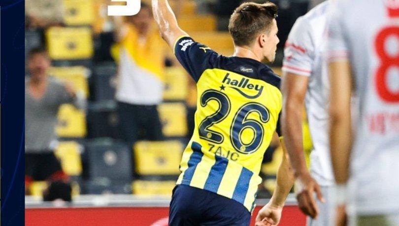 Fenerbahçe: 1 - Antalyaspor: 0 MAÇ SONUCU