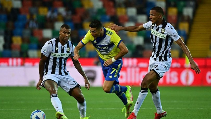 Udinese: 2 - Juventus: 2 MAÇ SONUCU