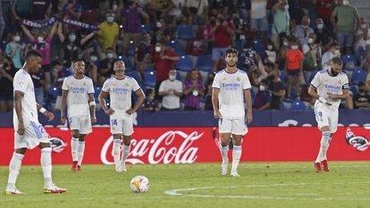 Real, Levante deplasmanında kayıp