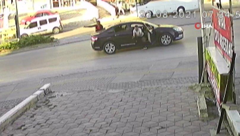 O ANLAR KAMERADA! Son dakika: Tartıştıkları sürücüye kurşun yağdırdılar - Haberler