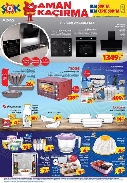 25 Ağustos ŞOK Aktüel ürünler kataloğu satışta! ŞOK'da bugün neler var? ŞOK kataloğu